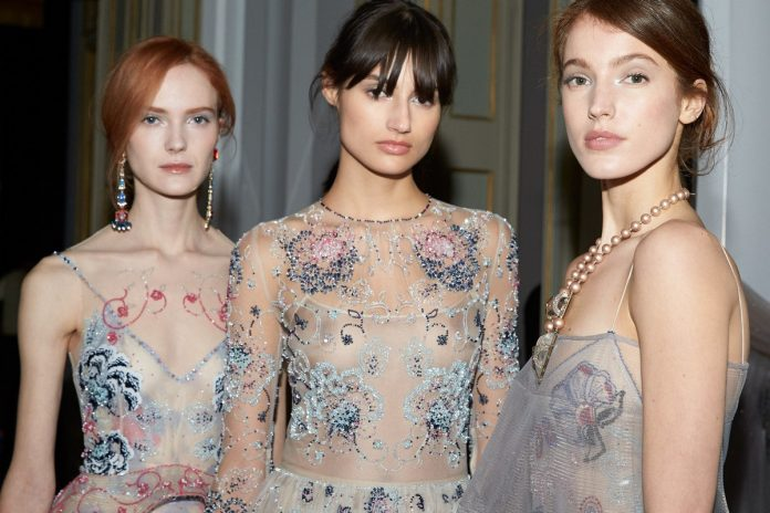 Giorgio Armani Privé spring summer 2021: Haute Couture pays tribute to Milan, the beauty look