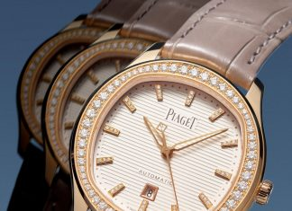 Piaget Polo Date 36 mm |  watch |  luxury |  models |  rose gold |  pavé